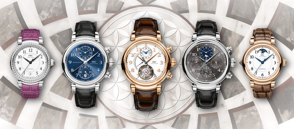 IWC DA Vinci Family classic watches