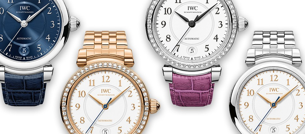 IWC DA VINCI AUTOMATIC 36 IW4583 elegant ladies watches