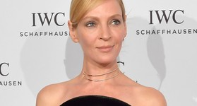 Uma Thurman IWC Talks To