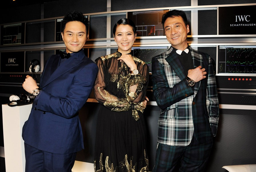 Julian Cheung, Anita Yuen and Francis Ng