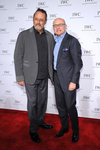 Georges Kern and Jean Reno