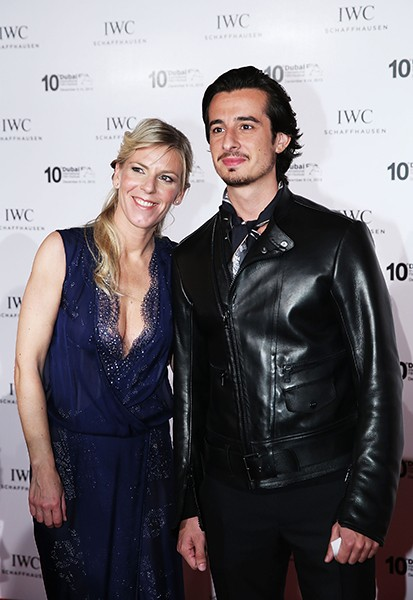 IWC Regional Brand Director Karoline Huber and film director Ali Mostafa