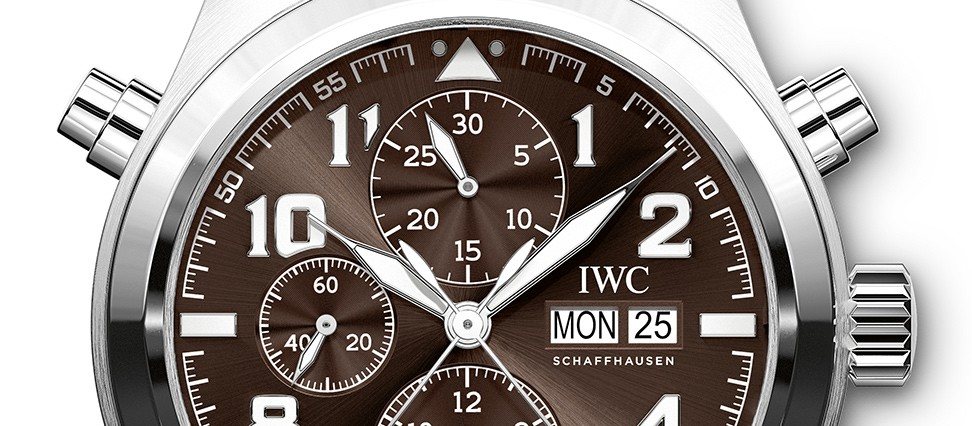 "IWC Pilot's Watch Double Chronograph Edition ""Antoine de Saint Exupéry"""