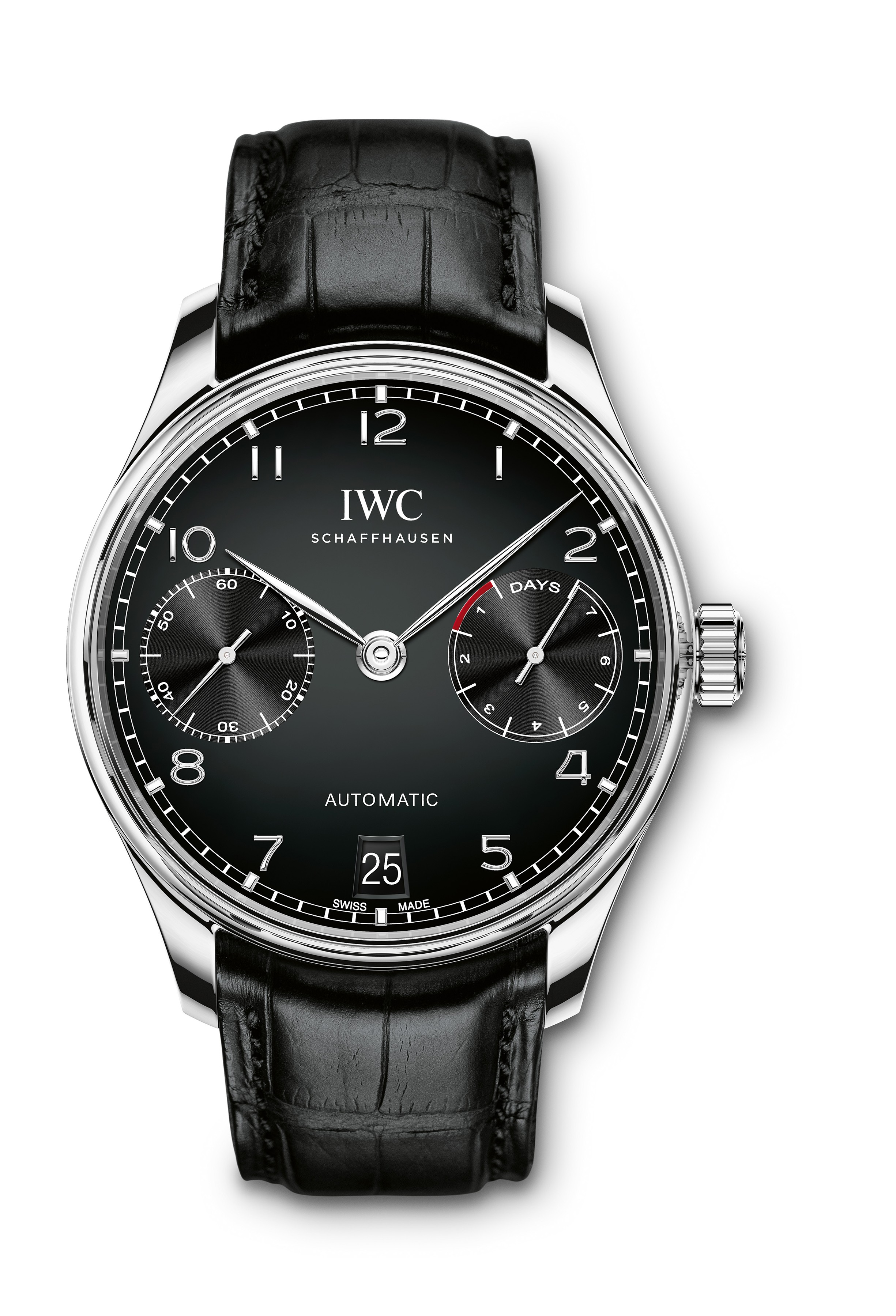 iwc portugieser automatic iw5007. Black Bedroom Furniture Sets. Home Design Ideas