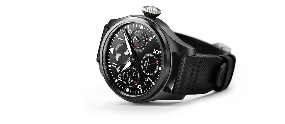 iwc big pilot s watch perpetual calendar top gun iw502902 new. Black Bedroom Furniture Sets. Home Design Ideas