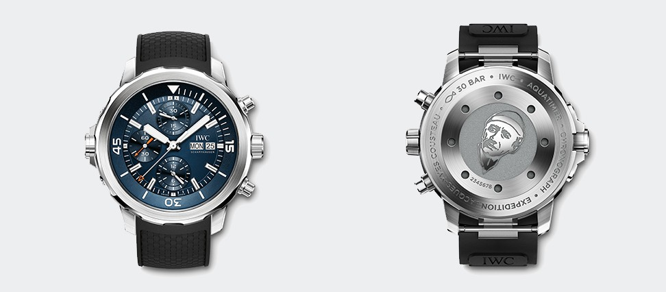 Aquatimer Chronograph Edition Expedition Jacques-Yves Costeau IW376805