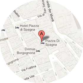 Rome Boutique Map