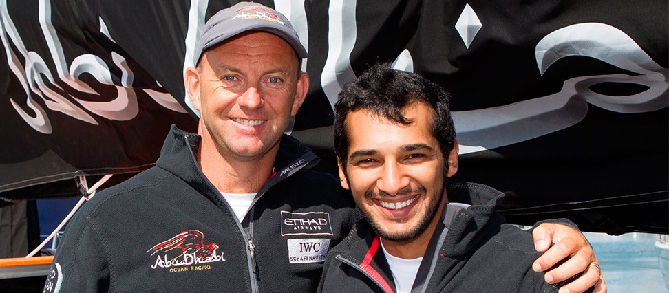 Ian Walker and Adil Khalid again teaming up for Volvo Ocean Race 2014-15