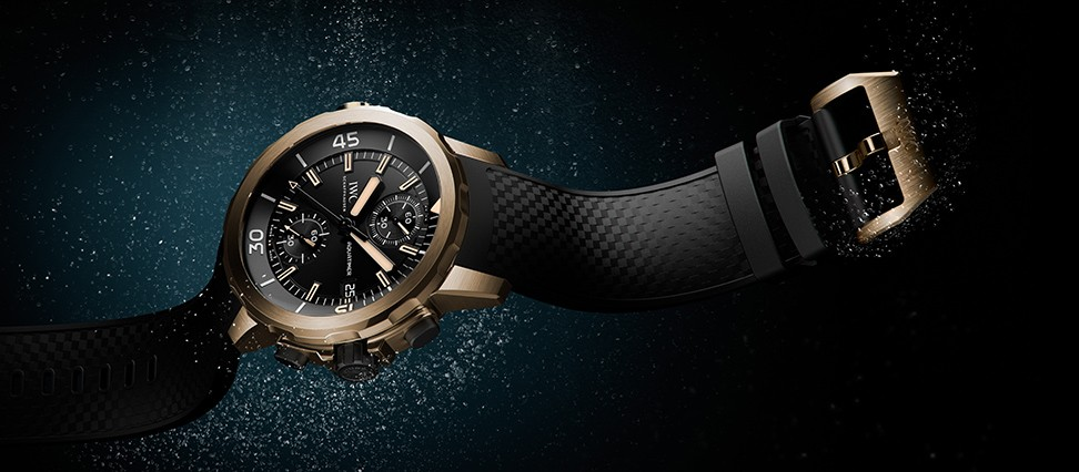 AQUATIMER CHRONOGRAPHE EDITION «EXPEDITION CHARLES DARWIN»