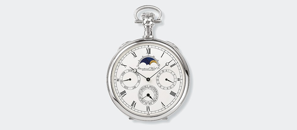 IWC Lepine Pocket Watch