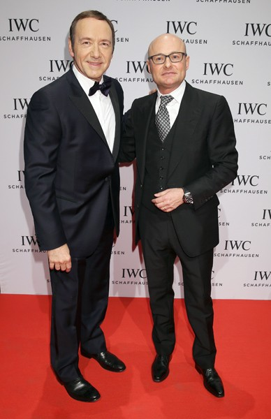 Kevin Spacey and Georges Kern