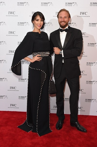 DIFF-2016-Nesreen Sanad (L) and Guillaume Marx
