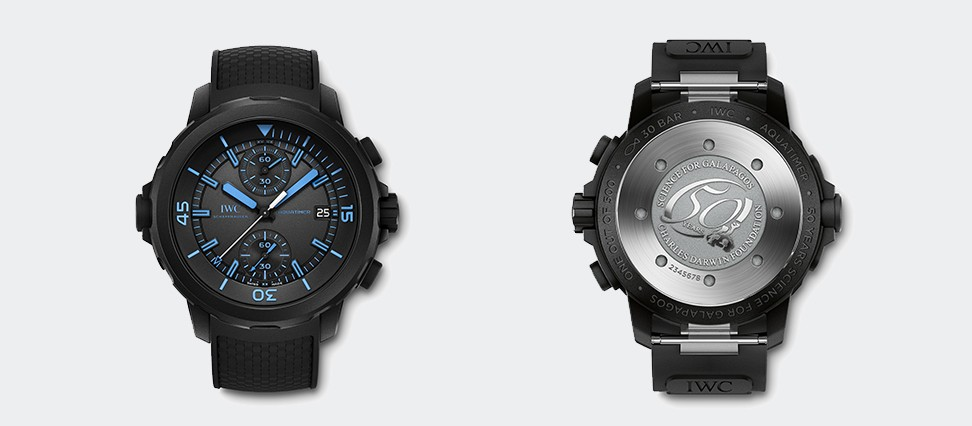 Aquatimer Chronograph Edition 50 Years Science for Galapagos IW379504
