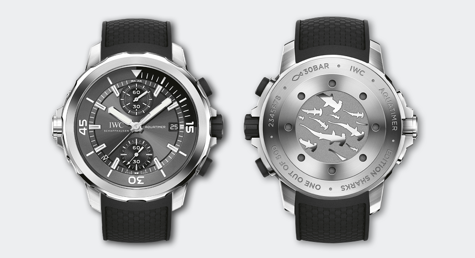 Aquatimer Chronograph Edition Sharks Picture